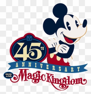 45th Anniversary Of Walt Disney World S Magic Kingdom 45th
