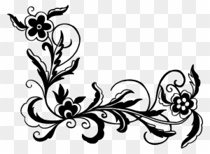 Vector Floral Ornaments Png Free Transparent Png Clipart Images