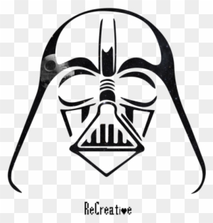 Darth Vader Darth Vader Helmet Outline Free Transparent Png