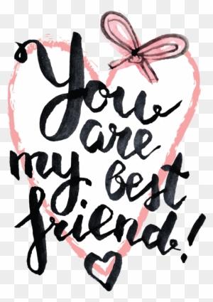 Best Friend Quotes Free Transparent Png Clipart Images Download