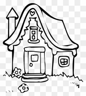 house cottage building holiday home dwelling cartoon house line Cartoon Black and White Apartment drawing house coloring book line art cottage drawing cartoon houses in winter line drawing