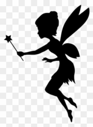Fairy Clipart Black And White Transparent Png Clipart Images Free Download Clipartmax