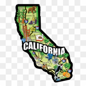 California Map Cartoon.California Map Clipart Transparent Png Clipart Images Free Download