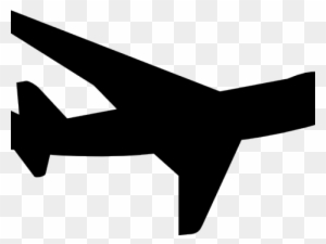Airplane Silhouette Clip Art Transparent Png Clipart Images Free