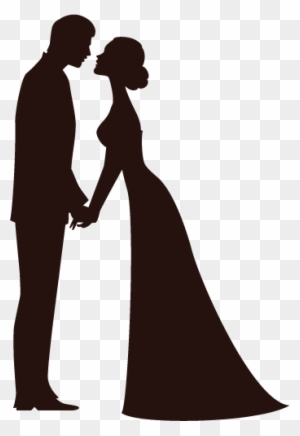 Bride And Groom Silhouette Wedding Clipart Transparent Png Clipart Images Free Download Clipartmax