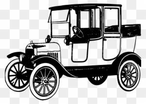 Vintage Car Ford Model T Drawing Vintage Car Free Transparent