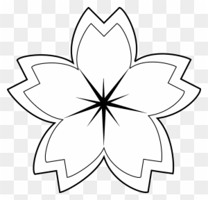 Clipart Black And White Flower Design Transparent Png Clipart
