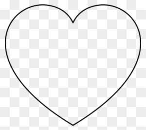 Coloring Book Heart Valentine's Day Shape - Valentines Day Heart Black And White