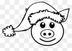 Pig 9 Clip Art Pig Face Drawing Free Transparent Png Clipart