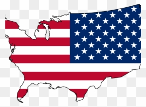 Picture Of The 13 Colonies Map - Usa Flag Map Png - Free Transparent ...