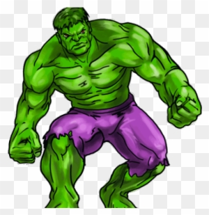 Hulk Clipart Step By Step Incredible Hulk Cartoon Png Free Transparent Png Clipart Images Download