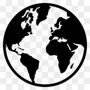 Map Of World Silhouette.Cube Earth Silhouette World Map Free Transparent Png Clipart
