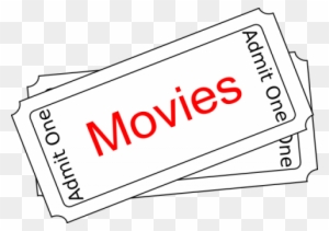 Movie Ticket Clipart, Transparent PNG Clipart Images Free Download -  ClipartMax