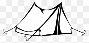 Camping Tent color page (Maybe adapt to stained glass pattern ... | 144x300