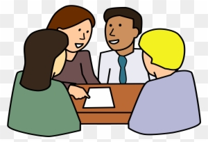 Meeting Clipart Group Work - Round Table - Free ...
