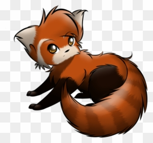 Red Panda How To Draw A Chibi Panda Free Download Clip Cute Baby Red Panda Drawing Free Transparent Png Clipart Images Download