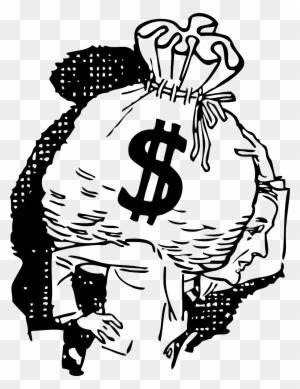 how to draw a money bag