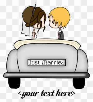 Clip Art Just Married