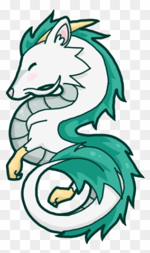 Haku Dragon Google Kereses Spirited Away Haku Dragon Chibi Free Transparent Png Clipart Images Download