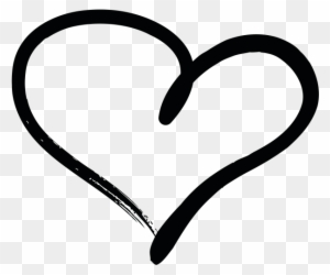 Hand Drawn Heart Clipart Transparent Png Clipart Images Free
