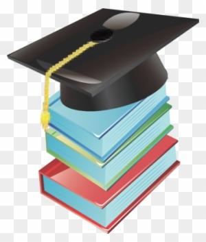 Best Of Free Clipart Graduation Cap Graduation Cap Books With Graduation Hat Clipart Png Free Transparent Png Clipart Images Download