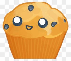 Blueberry Muffin Clipart Kawaii - Cute Blueberry Muffin @clipartmax.com