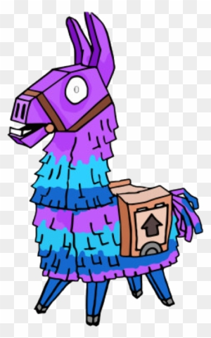Llama Fornite Png Clipart Freeuse Library Pixel Art Fortnite Llama Free Transparent Png Clipart Images Download
