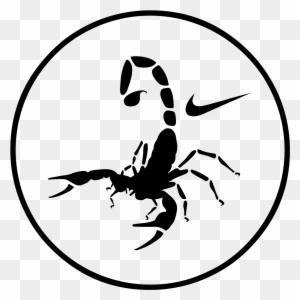 Drawn Scorpion Svg Scorpion Nike Free Transparent Png Clipart