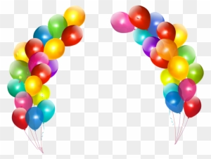 Happy Birthday Balloons Clip Art Transparent Png Clipart Images Free Download Clipartmax
