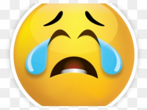 Cry Huge Freebie - Clip Art Crying Face, HD Png Download - kindpng