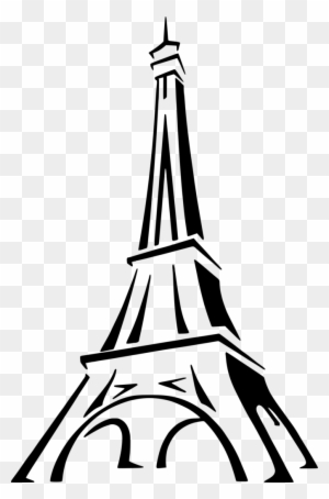Medium Image Eiffel Tower Drawing Easy Free Transparent Png