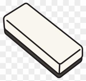 Whiteboard Eraser - Blackboard Eraser Clipart Black And