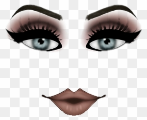 Roblox Female Face Decals Roblox Sticker Face Roblox Png Woman Free Transparent Png