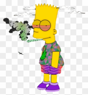 Memezasf Sticker Supreme Bart Simpson Drawing Free Transparent Png Clipart Images Download