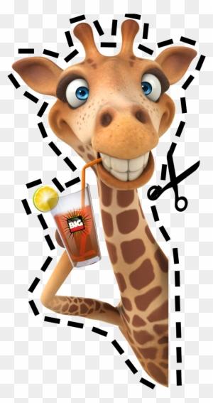 Лет, рисунок прикольный жирафа