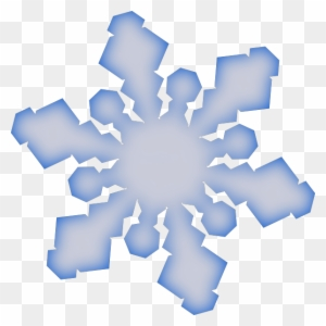 blue snowflakes border PNG image with transparent background | TOPpng