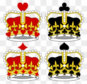 King And Queen Crowns Clipart Transparent Png Clipart Images Free