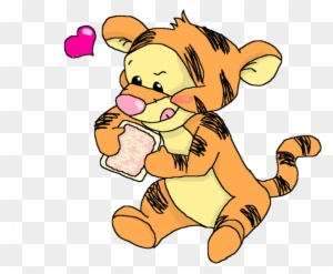 Cute Tiger From Winnie The Pooh