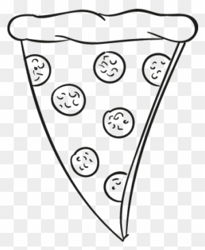 Free Pizza Slice Clipart Black And White, Download Free Clip Art, Free Clip  Art on Clipart Library