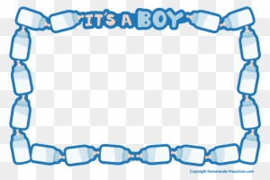 Clip Art Borders for Attractive Letters | Clip art borders, Baby clip art,  Baby shower cards