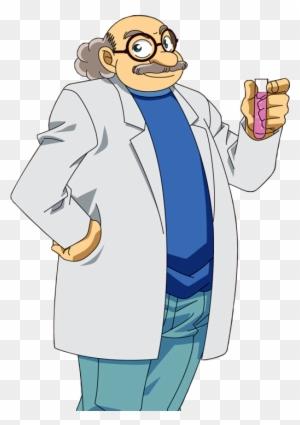 Detective Conan Doctor Agasa - Hiroshi Agasa - Free Transparent PNG Clipart  Images Download