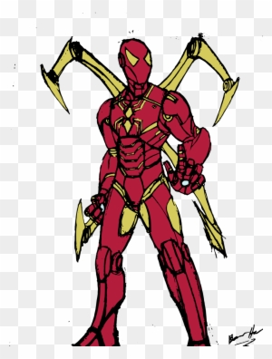 iron spider coloring pages Iron Spider Coloring Pages   Iron Spider Coloring Pages   Free  iron spider coloring pages
