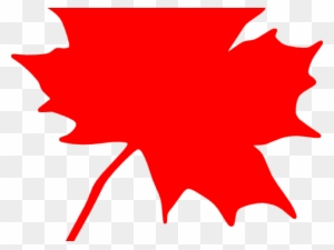 Red Maple Leaf Clip Art Transparent Png Clipart Images Free Download Clipartmax