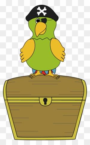 Cartoon Pirate Treasure Chest Clipart (#5501634) - PinClipart