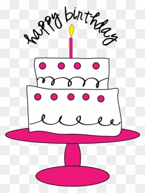 Cute Cake Png Clipart Image Pink Birthday Cake Png Free Transparent Png Clipart Images Download