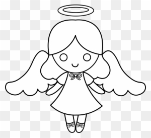 Angel Clipart Black And White Transparent Png Clipart Images Free Download Clipartmax