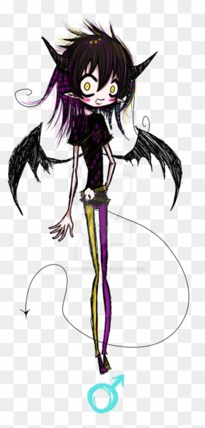 Custom Emo Demon Boy Anime Doll Boy Drawing Free Transparent Png