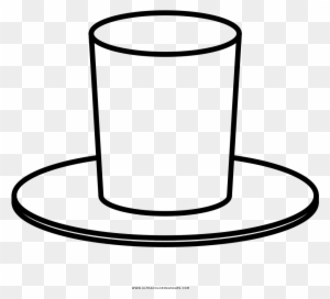 Top Hat Template For Kids Coloring Pages Printable Firefighter ... | 272x300
