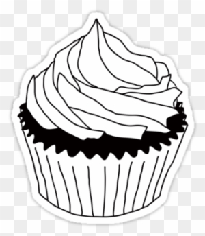 Cupcake Clipart Black And White Cupcake Clipart Black And