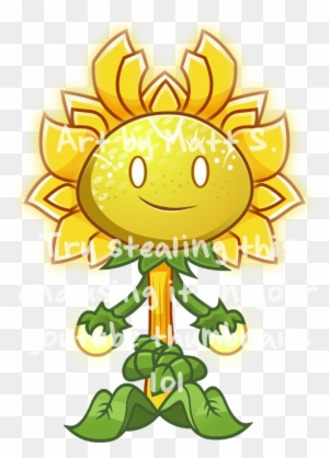 Sunflower Queen By Lwb The Fluffymystic Plants Vs Zombies